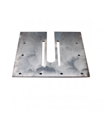 ELF040 - End Plate To Suit Direct Drive & Flange Mounted Motors with 40mm Shaft