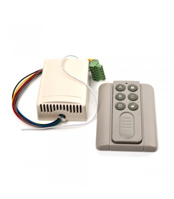 SDR001 - Remote Control Receiver with Mini Handset Transmitter for Automatic Doors