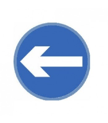 SDI004 - Adhesive Sign - One Way