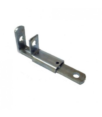 NV128LB - Shoot Bolt - Pressed Steel - Zinc Plated Standard Type with Keeper
