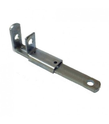 NV128LA - Shoot Bolt - Pressed Steel - Zinc Plated Long Type with Keeper