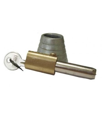 NV195G - Bullet Lock & Housing - Malleable & Brass - Chrome & Zinc Plated