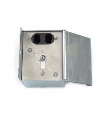 NV237 - Double Pin Lock Isolator Box with Key Switch