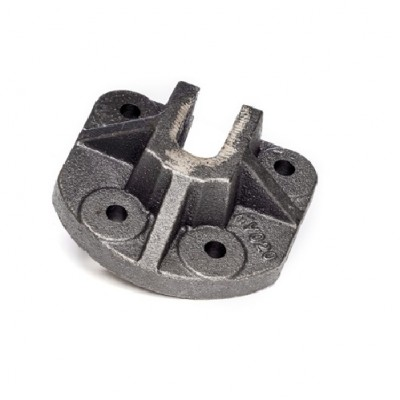 NV020 - Support Cup - Cast - 4 Hole & 28mm Slot (Brand: NVM Door Components)
