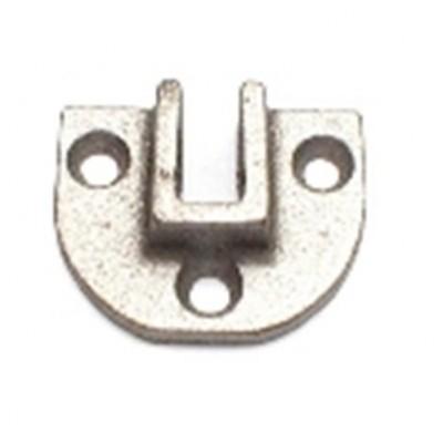 NV033 - Support Cup - Cast -3 Holes & ⁷⁄₁₆″ Slot (Brand: NVM Door Components)