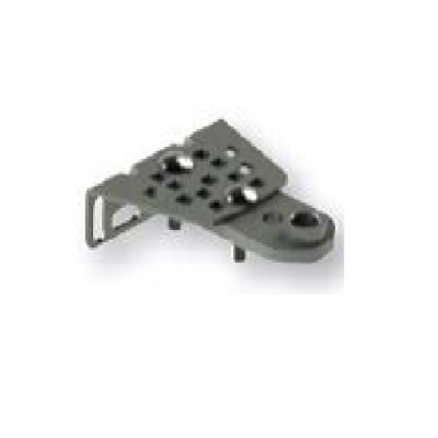 NGO502 - Adjustable Front Mounting Brackets (PAIR) for Automatic Swing Gates (Brand: North Valley Metal)
