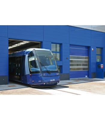 HSD002 - TRAFFIC C - High Speed Fold Up Door