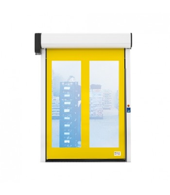 HSD001D - INCOLD ZIP - VISION - RAPID ROLL DOOR