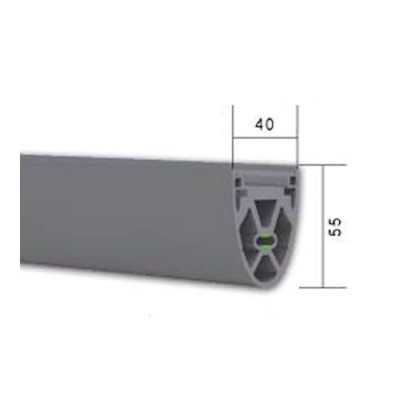 NE120 - Safety Edge Rubber for Industrial Roller Shutters