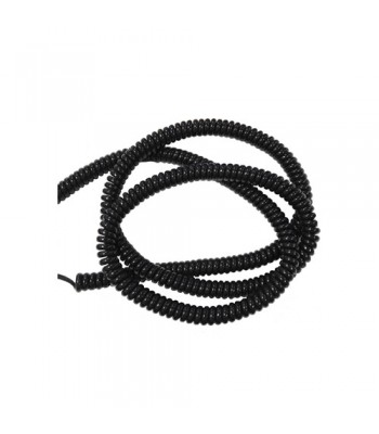 NE300 - Safety Edge Curly Cable - 2500mm (Extended) for NE001 Wired Safety Edge Transmitter