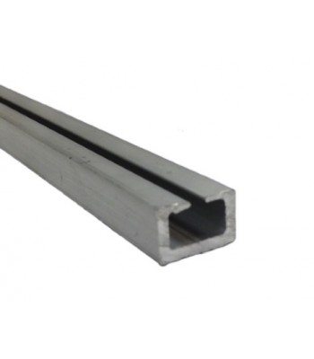 NE700 - Aluminium Track for NE400 Plain Rubber Edge