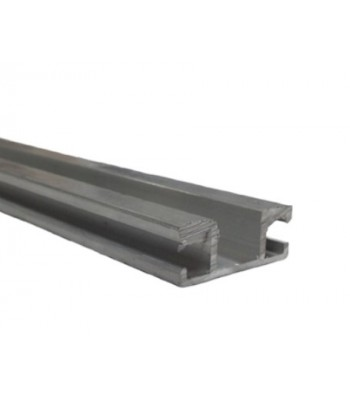 NE740 - Aluminium Track 33mm for NE140 Safety Edge (No Screwports)