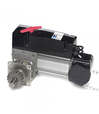 NDF315 - NVM Flange Motor with Adaptor - 3 Phase 415v 150nm, with Built-on Starter and 3 Button Station