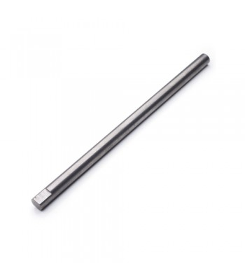 NV357 - Milled Shaft - Steel - 25mm Ø Milled One End