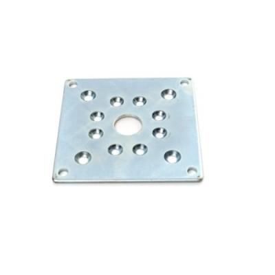 ELF053N - Fixing Plate - Steel - Universal Plate for NT45 & NT59 Tube Motors (Brand: NVM Motors)