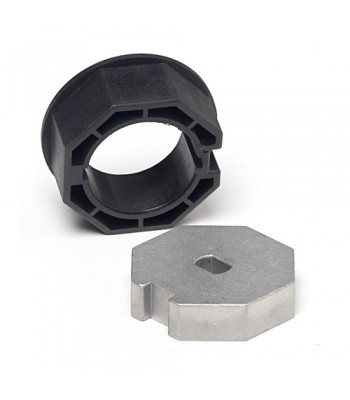 NT4560* - Crown & Adaptor - 57mm for Octagonal Tube 60mm x 1.5mm Wall to suit 45mm Motors