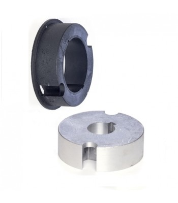 """NT5993 - Crown & Adaptor - 93mm Ø for 101.6mm SWS 4"""" Fluted Tube to suit 59mm Motors"""
