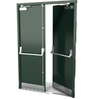 DFS101A - Bespoke Steel Fire Exit Door Sets - Made to Measure