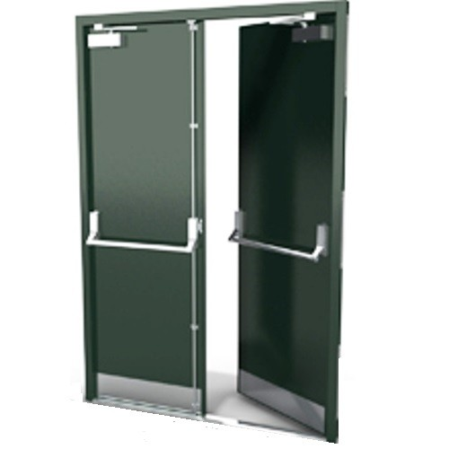 Buy DFS101A   Bespoke Steel Fire Exit Door Sets   Made To Measure | North  Valley Metal