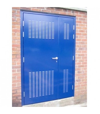 DLS105 - Bespoke Louvre Sub-Station Doors - Made to Measure