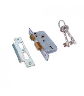 DHL027 - Sash Lock - 3 Lever with Keys