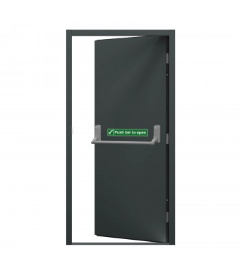 DFS607 Series 6 - Fire Exit Door -  990mm x 2095mm Left Hand Hung