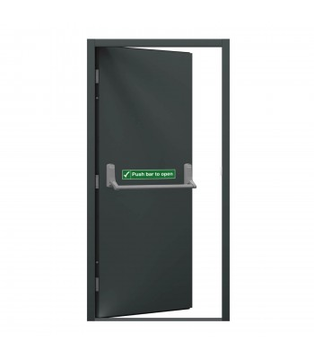 DFS608 Series 6 - Fire Exit Door -  990mm x 2095mm Right Hand Hung