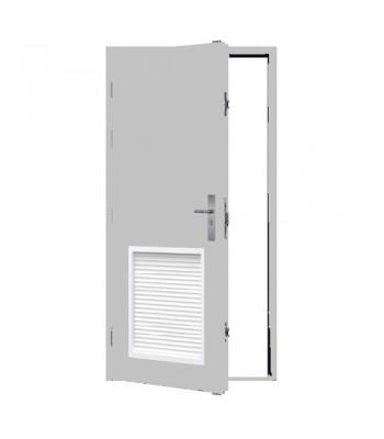 DLS602  - Series 6 - Stocked Steel  Louvre Doors - Panel 479mm x 479mm Bottom