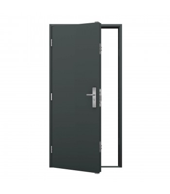 DPS611 Series 6 - Steel Personnel Door -  890mm x 2095mm Left Hand Hung
