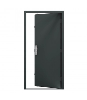 DPS612 Series 6 - Steel Personnel Door -  890mm x 2095mm Right Hand Hung