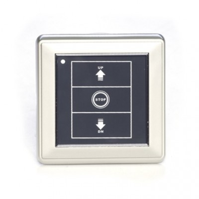 NT1111 - Remote Control Receiver / Switch Combination 10a 240v with LCD Touch Screen (Brand: North Valley Metal)