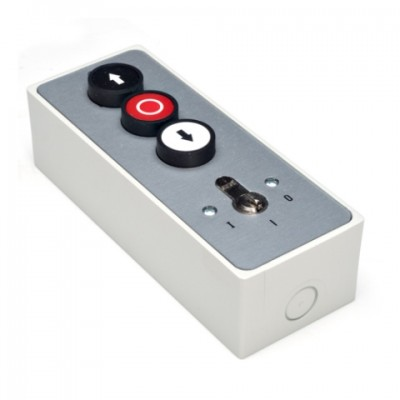 Geba Lockable 3 Button Station Face Mounted image
