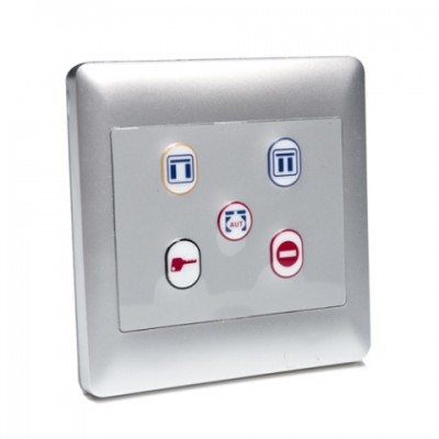 SDP005 - 5 Position Push Button Function Control for Automated Entrance Systems (Brand: North Valley Metal)