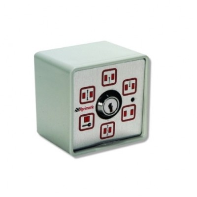 SDK920 - Aprimatic 6 Position Function Key Switch (Traditional) for Automatic Sliding Door (Brand: Aprimatic)