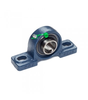 "BP001 - Pedestal Bearing - 1"" Shaft, 2 Hole"