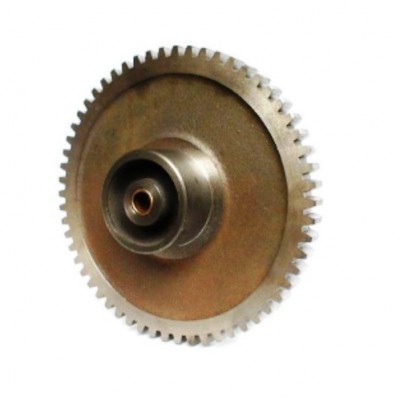 NV040 - Barrel Gear - Cast - 58T x 5DP - Boss for 4 inch tube
