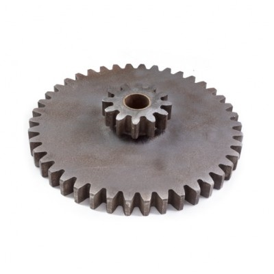 NV185 - Compound Gear - Steel - 42T x 12T x 5 DP 25mm Wide (Brand: NVM Door Components)