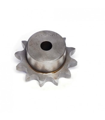 "SS1201 - Sprocket - 12T x ⁵⁄₈"" x ⅜"" Pitch  - British Standard"