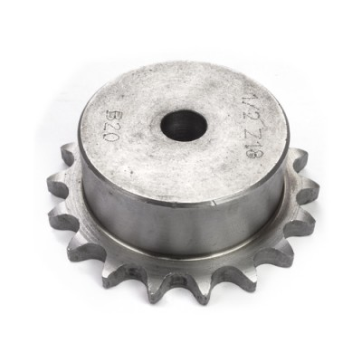 "SS18007 - Sprocket - 18T x ³⁄₄″ x ⁷⁄₁₆"" Pitch - British Standard (Brand: NVM Door Components)"