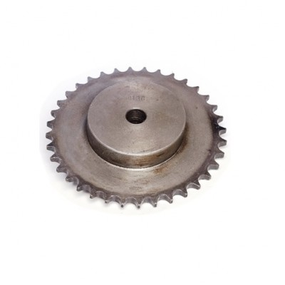 "SS36002* - Sprocket - 36T x ½"" x ³⁄₁₆"" Pitch - British Standard (Brand: NVM Door Components)"