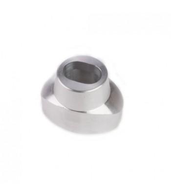NV175 - Pin Lock Housing - Aluminium to suit Oval Bullet Locks