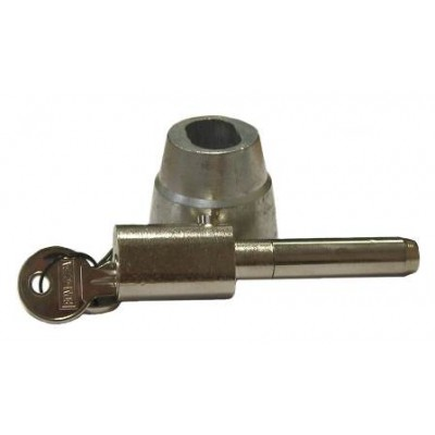 NV195 - Bullet Lock & Housing - Steel - Chrome & Zinc Plated, 55mm Extended Pin image