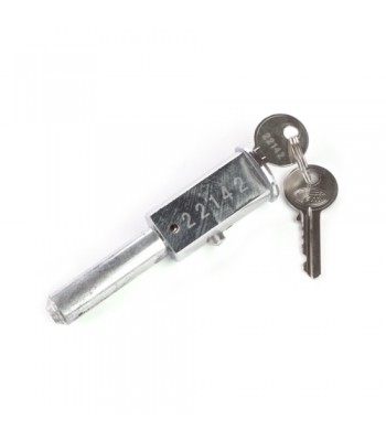 NV349E - Pin Lock Housing - Tessi Type - To suit NV349A Bullet Lock - Zinc Plated