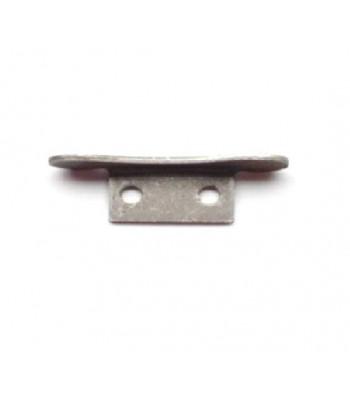 "NV153 - End Lock - Pressed Steel - 2"" Flat Lath"