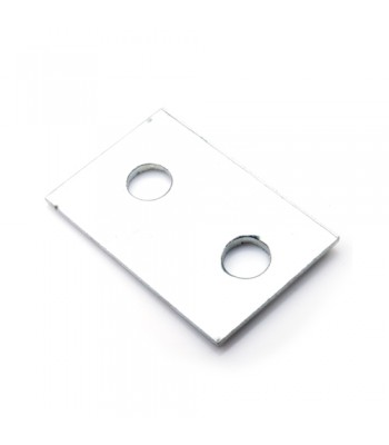 NV157B - Metal Reinforcing Plate - To suit NV157 Plastic End Locks - Zinc Plated