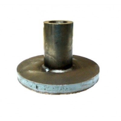 "NV315 - Spring Anchor - Steel - Boss for 8"" Ø Tube (Brand: NVM Door Components)"