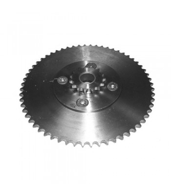 "NV366 - Double Reduction Set - Sprocket 18T x ½"" x ⁵⁄₁₆"" Pitch & Platewheel 60T x ½"" x ⁵⁄₁₆"" Pitch"
