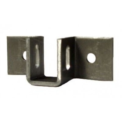 NV386 - Support Cup - Pressed Steel -Slotted & Zinc Plated (Brand: NVM Door Components)