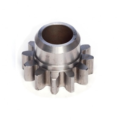 NV189 - Drive Pinion - Steel - 12T x 5DP with Chamfered Boss for Compound Gear (Brand: NVM Door Components)