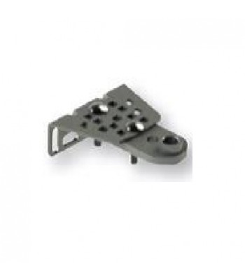 NGO502 - Adjustable Front Mounting Brackets (PAIR) for Automatic Swing Gates